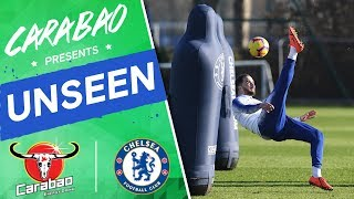 #Higuain's Worldies In Shooting Drill, #Kepa & Caballero Training | Chelsea Unseen