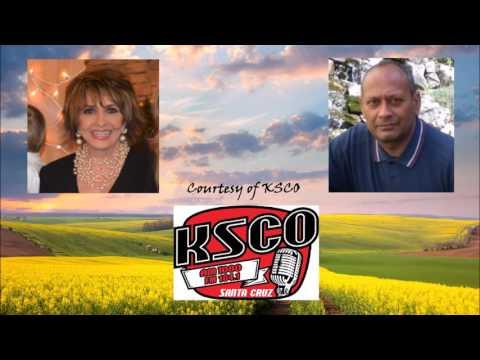 "Courageous radio host Georgia interviews Frank Raymond on ""America Stolen."""