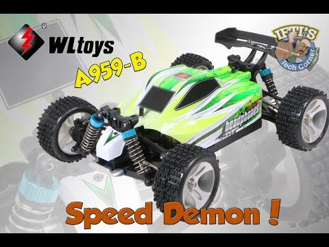 WLToys Vortex A959-B - Super Fast Mini Buggy! - REVIEW