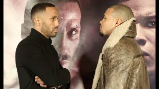 IT'S ON! - JAMES DeGALE v CHRIS EUBANK JNR **OFFICIAL** HEAD-TO-HEAD @ PRESS CONFERENCE / 23/02/19