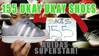 155 UKAY UKAY SHOES (ADIDAS SUPERSTAR)