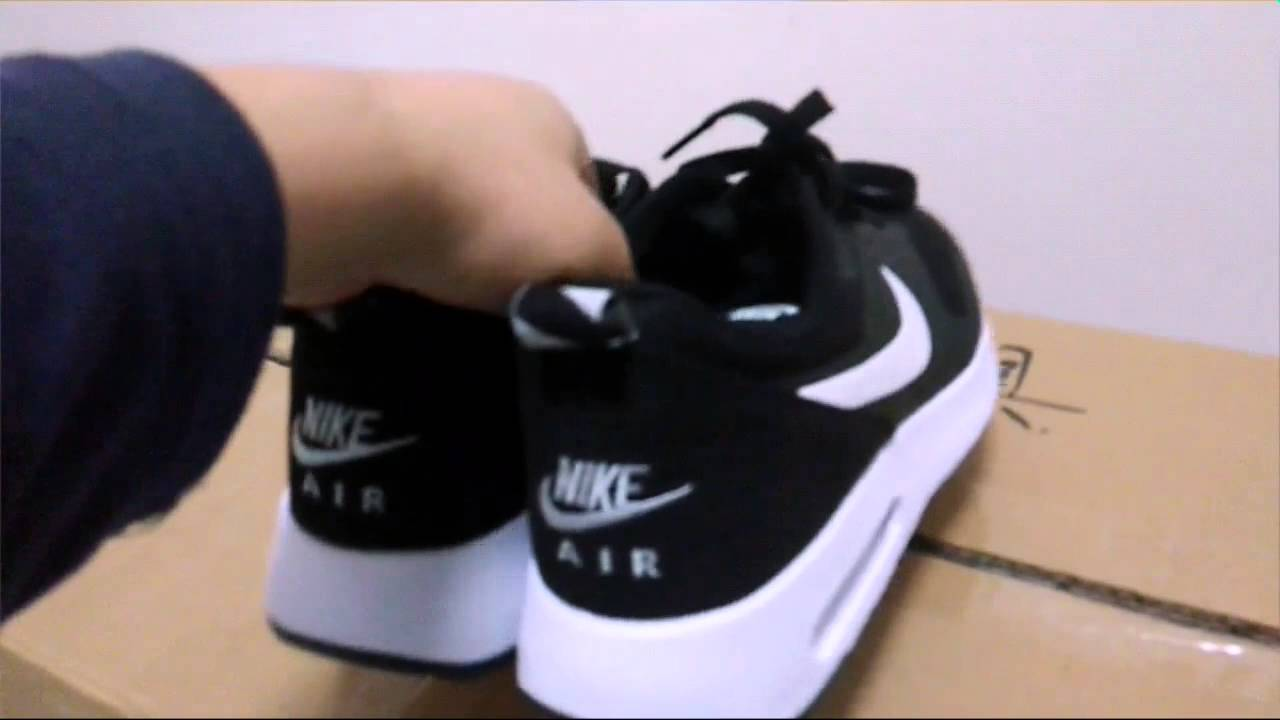 2fc683da84985 Unboxing - Nike Air Max Tavas Shoes Review (Replica) - YouTube