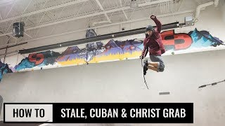 How To Stale, Cuban & Christ Grab On Skis