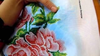 Вышивка бисером.Один из способов