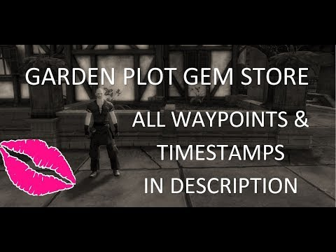 Garden Plot Locations - WP and Timestamps in the description
