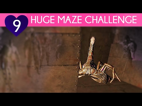 MAZE EVENT CHALLENGE | Ark Survival Evolved | Center PvP Gameplay, Episode 9
