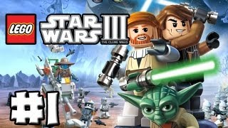 LEGO Star Wars 3 - The Clone Wars - Episode 01 - Prologue(Featuring Level - Prologue (HD) (Gameplay) . Hit that Like Button if you enjoyed the video :) Thanks guys. ===Awesome Sauce=== LEGO Star Wars 3: The ..., 2013-03-03T17:01:33.000Z)
