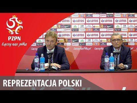Konferencja prasowa z udziałem Zbigniewa Bońka i Adama Nawałki