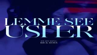 Usher Ft. Rick Ross - Lemme See Instrumental + Free mp3 download!