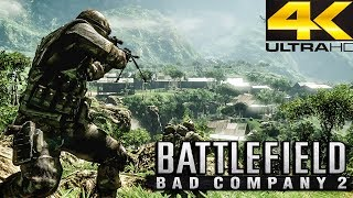 Battlefield Bad Company 2 - Rush (Valparaiso) RAW - 4K