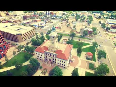 Downtown Colorado springs (Drone Footage)