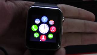 Smart watch SW 08 review