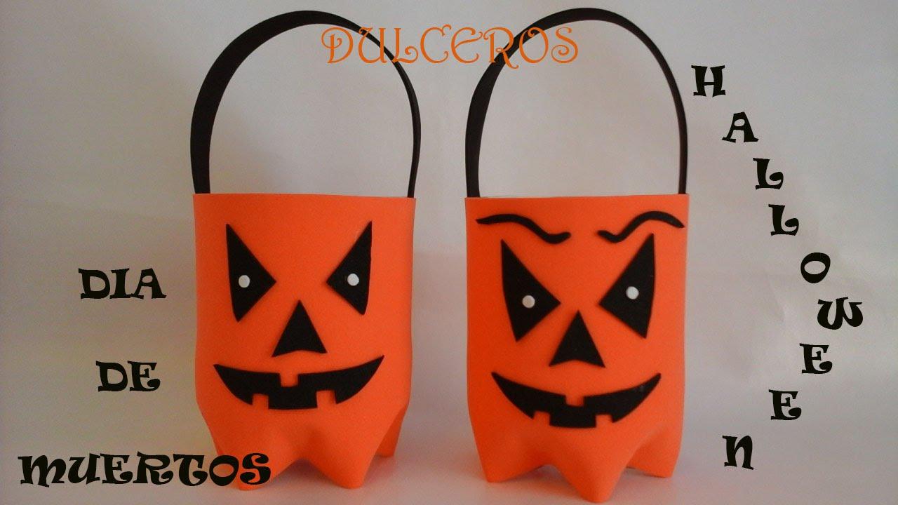 dulcero de halloween dia de muertos calabaza youtube - Halloween Dia
