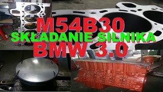 m54b30 składanie silnika bmw 3 0 e46 z3 e39 remont kapitalny