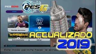 PES 6 ACTUALIZADO 2019 PC - INFINITTY PATCH 2019 Gameplay
