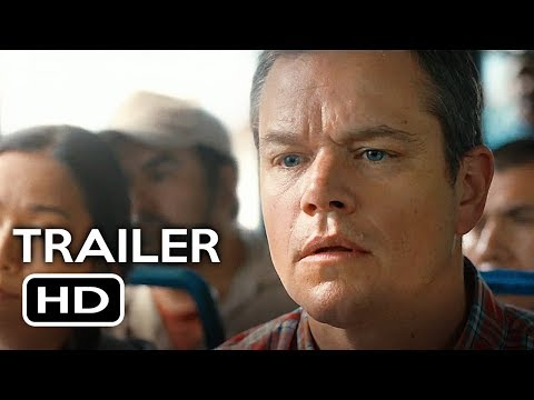Downsizing Official Teaser Trailer #1 (2017) Matt Damon, Christoph Waltz Sci-Fi Movie HD