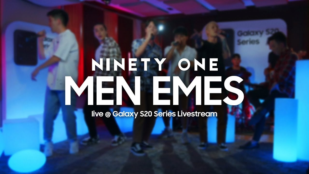Ninety One — MEN EMES | Живое выступление | Samsung Galaxy S20 Series Livestream|
