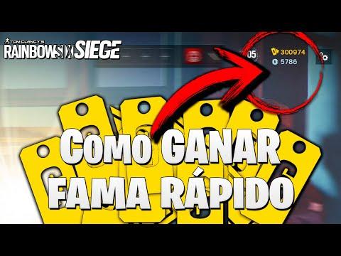 COMO CONSEGUIR FAMA RAPIDO 12.000 EN 1 HORA 😱😱😱 | Caramelo Rainbow Six Siege Gameplay Español