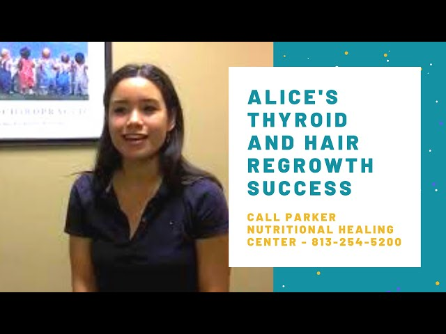 Alice Shares Her Thyroid and Hair Regrowth Success!