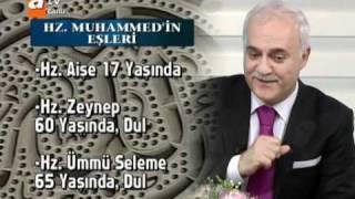 Nihat Hatipoğlu - Hz. Muhammed'in Eşlerinden Boşanma hadiseleri ( Sahur Özel ) 2. Kısım