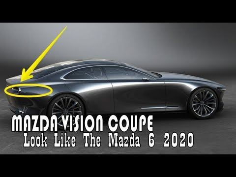 Luck This Mazda Vision Coupe Concept This Car Will Look Like The
