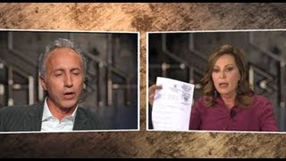 La gabbia - SCONTRO TRAVAGLIO - SANTANCHÈ TRA OFFESE PERSONALI E COLPI BASSI - parte 1 (11/09/2013)