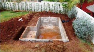 Бассейн своими руками из бетона(Бассейн своими руками из бетона. Предлагаю вашему вниманию пошаговое изготовление бассейна. http://dachasvoimirukami...., 2014-09-19T16:06:18.000Z)