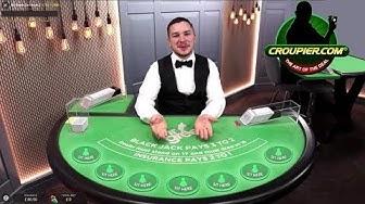 Live Dealer Blackjack Terminator at Mr Green Online Casino!