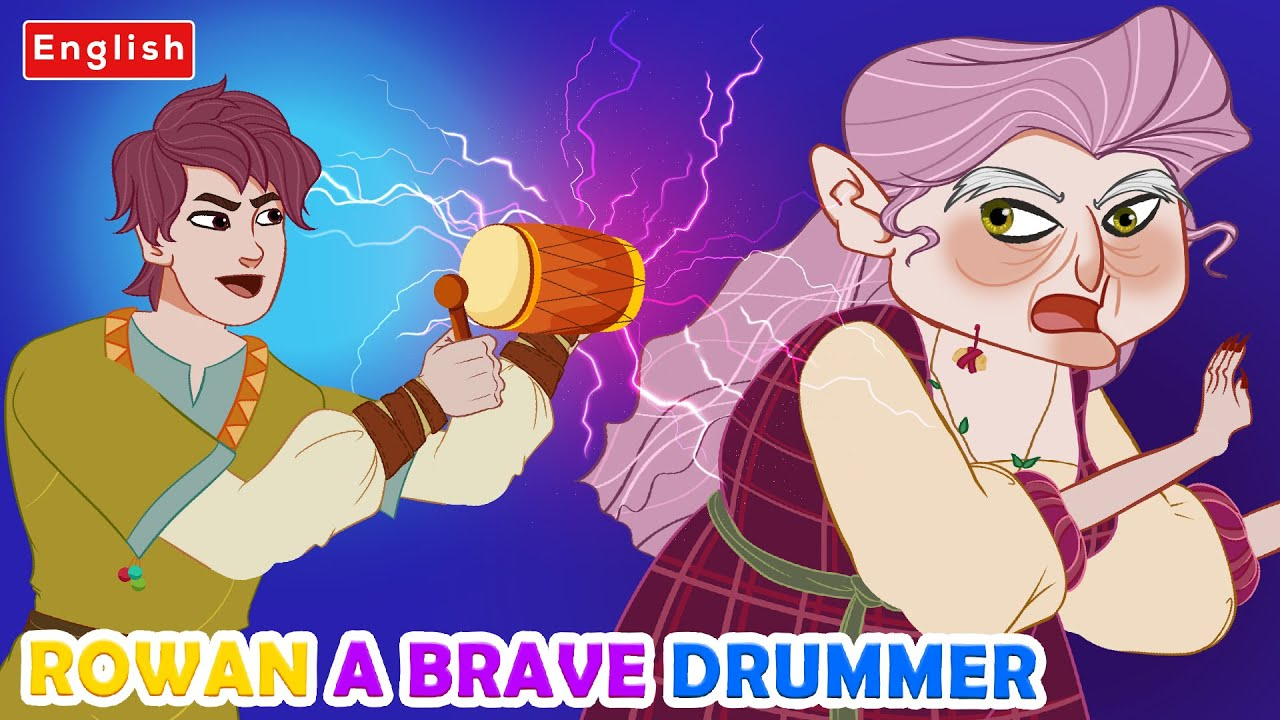 Rowan – A Brave Drummer Story️ 🥁| Story For Teenagers | WOA Fairy Tales