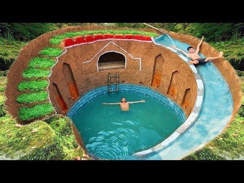 Чудеса света! строительство самого секретного подземного дома под землей