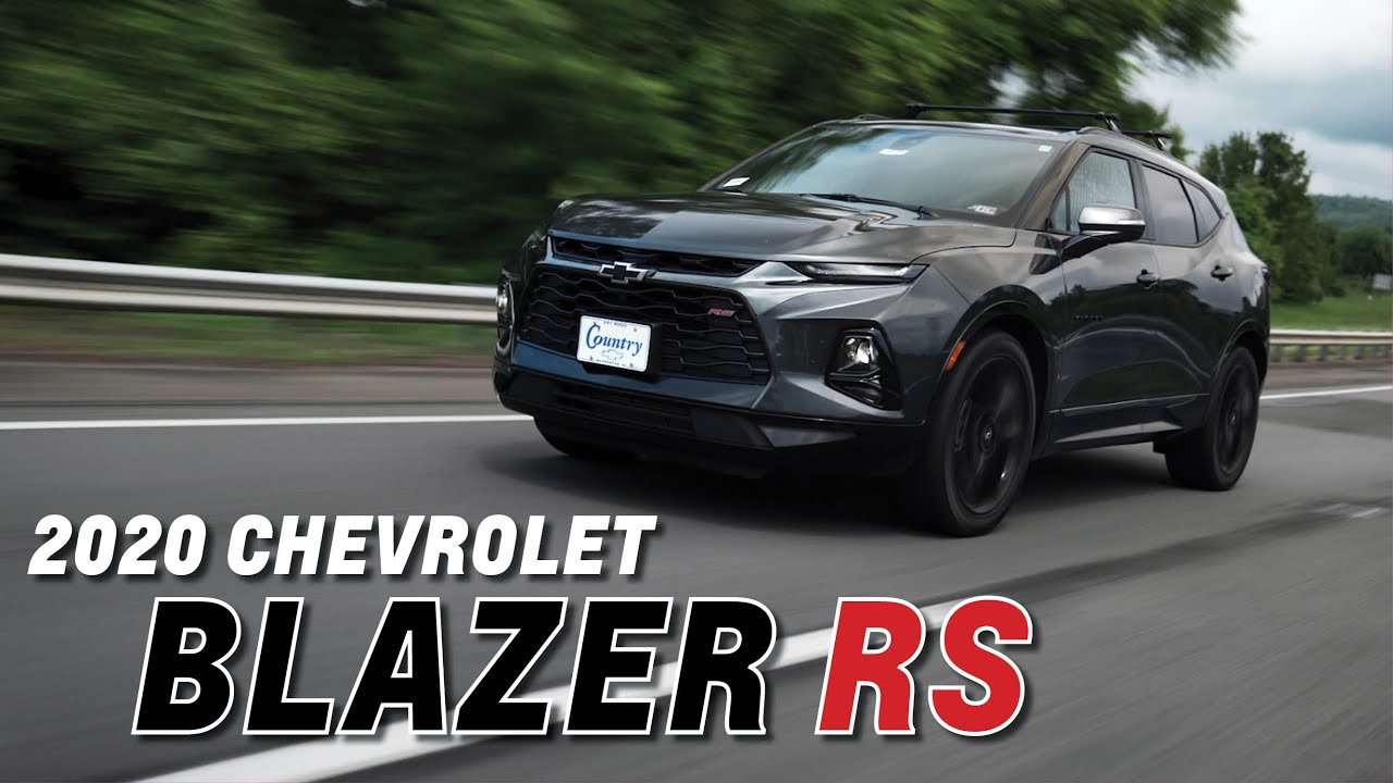LOOK INSIDE the NEW 2020 Chevrolet BLAZER RS