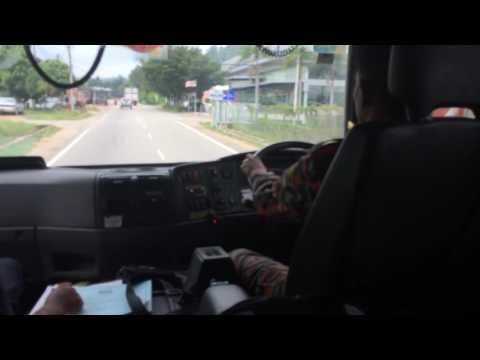Malaysian Emergency Rescue Driving Training at Kuantan Pahang (BOMBA PAHANG)