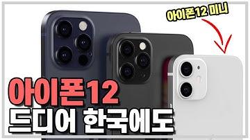 아이폰12 드디어 한국에도! 아이폰12 미니부터 프로 맥스까지 4가지모델 출시일 그리고 가격...?