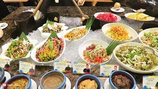 FILIPINO FOOD BUFFET in BGC Taguig at F1 Hotel Manila   BEST Place Eat Filipino Food in Manila