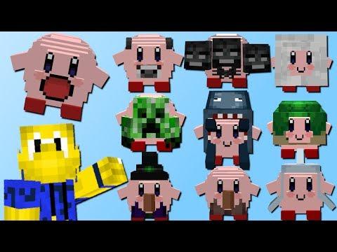Kirby mit 100+ Verwandlungen! (Wither, Drache, Kuh, Tintenfisch)