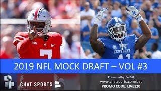 2019 NFL Mock Draft: 1st Round Projections Feat. Nick Bosa, Josh Allen & Dwayne Haskins (Vol. 3)