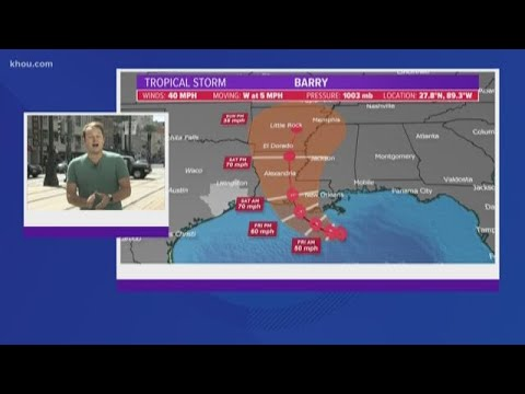 Tornado, flooding strikes New Orleans ahead of Tropical Storm Barry