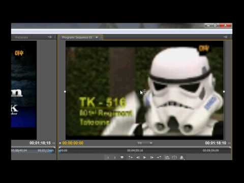 How to upscale lower resolution video to hd for youtube using Adobe premiere pro cs4