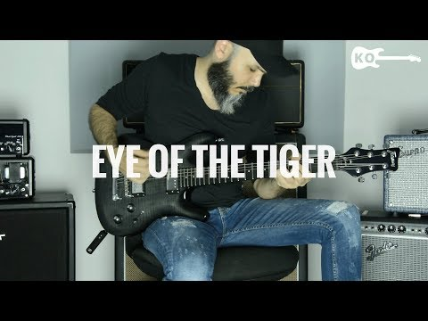Survivor - Eye Of The Tiger - Metal Guitar Cover By Kfir Ochaion