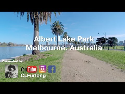 Albert Lake Park, Melbourne Australia Virtual Run