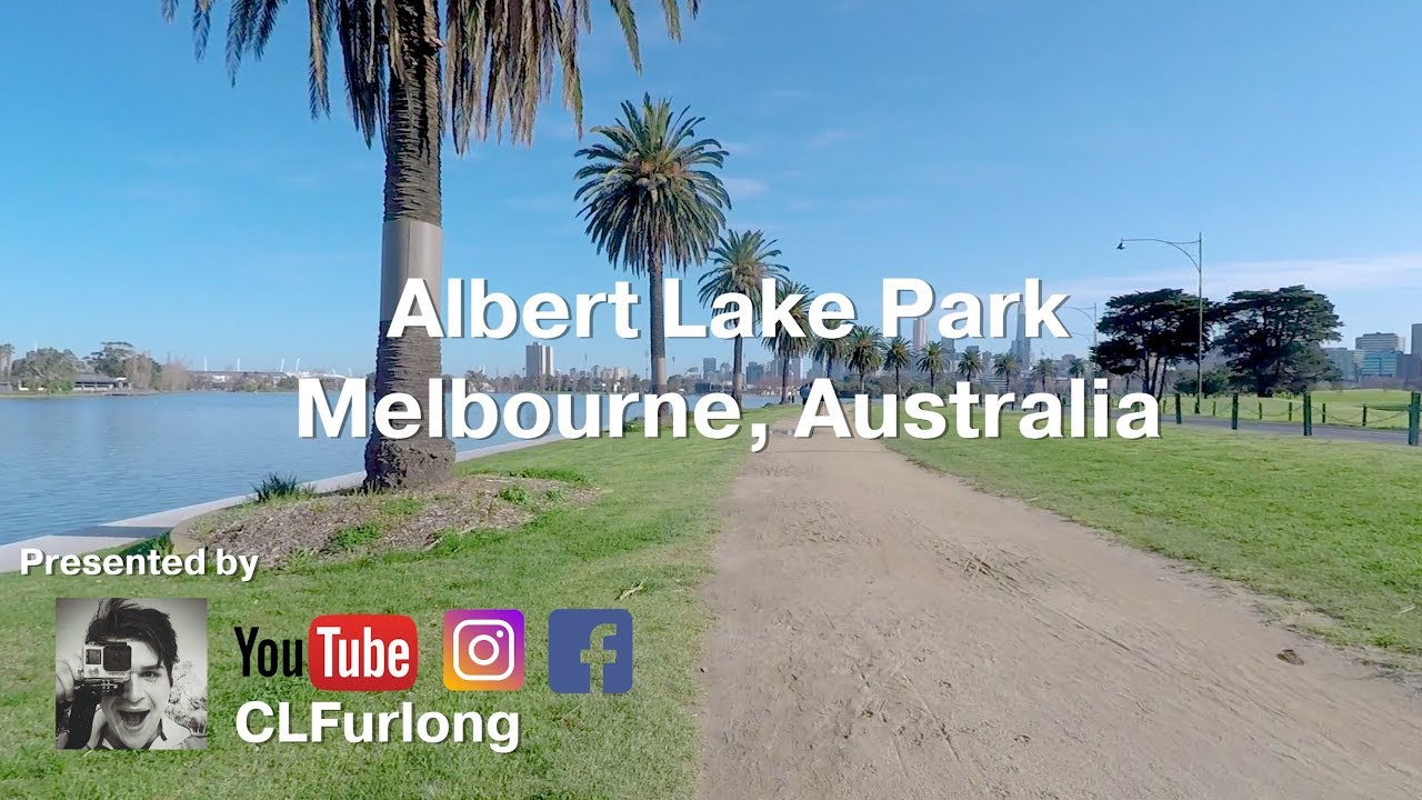 Albert Lake Park, Melbourne Australia Virtual Run