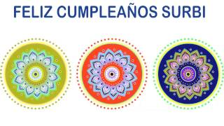 Surbi   Indian Designs - Happy Birthday