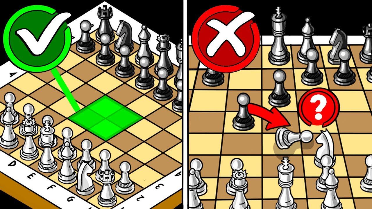 نصائح للمبتدئين في لعب الشطرنج