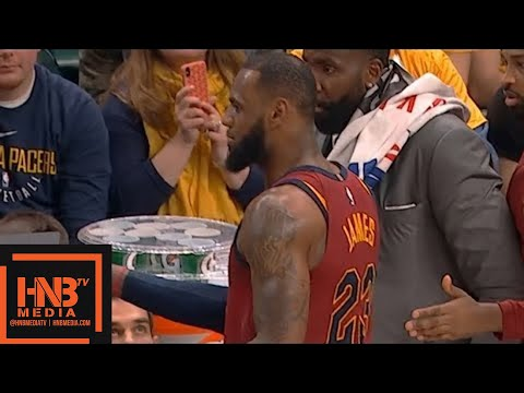 Cleveland Cavaliers vs Indiana Pacers 1st Qtr Highlights / Game 3 / 2018 NBA Playoffs