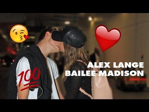 Alex Lange and Bailee Madison