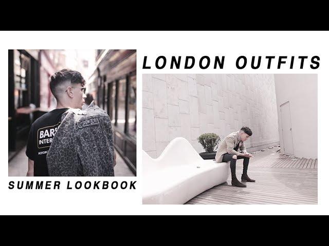 OUTFITS OF THE WEEK LONDON LOOKBOOK | Luke Franks