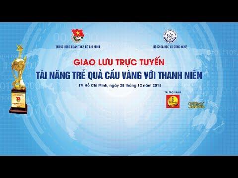 Giao lưu trực tuyến 'Giải thưởng Quả cầu vàng và Nữ sinh viên tiêu biểu'