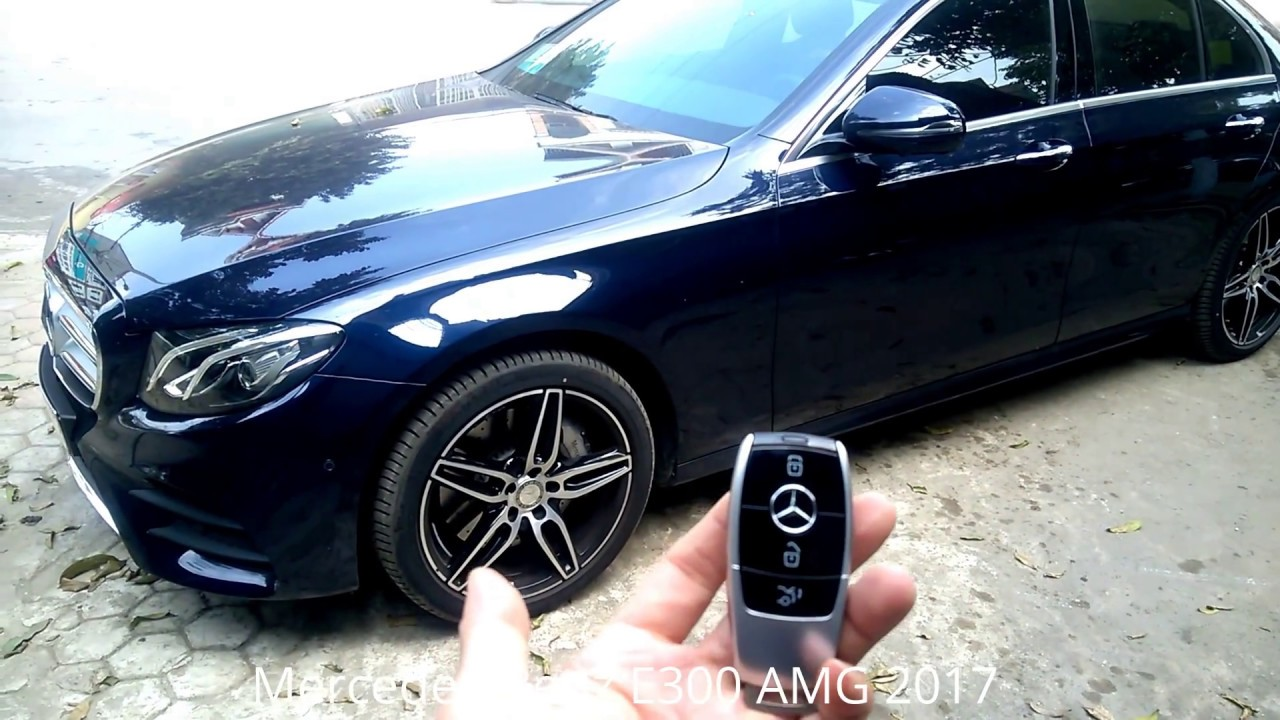 Mercedes Amg Coupe 2017 >> HOW TO USE 2017 New Mercedes-Benz E 300 AMG KEY | BUSINESSMAN CAR | Germany Car - YouTube