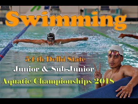 54th aquatic championships 2018 New Delhi - देखिए यहां से जीतने के बाद सीधे जाएेंगे नेशनल तैराकी में