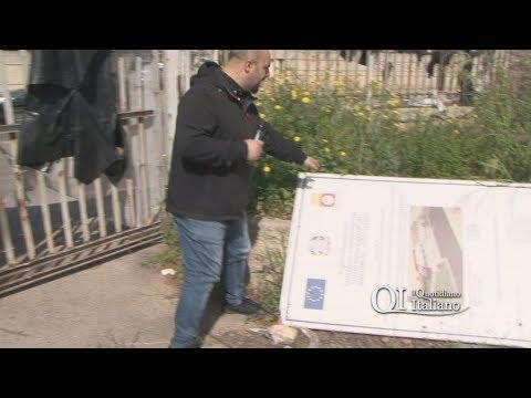 Bari, amianto ex scuola Duse nel cantiere del centro sociale a San Girolamo
